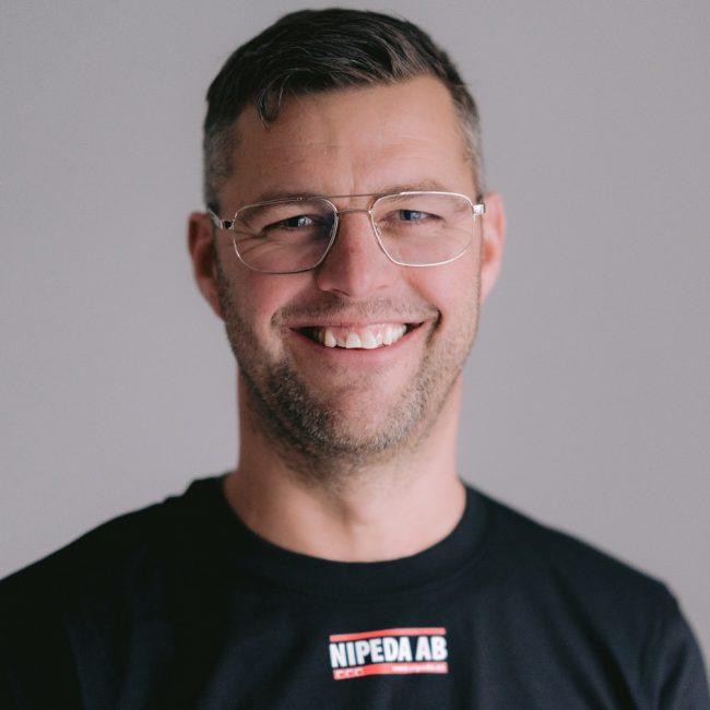 VD Fredrik Nilsson